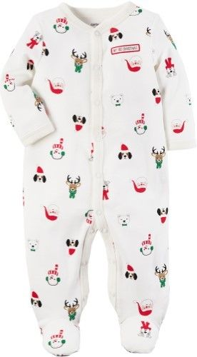 7fff0fa8bf26 Carter s Baby Girls First Christmas Sleep   Play