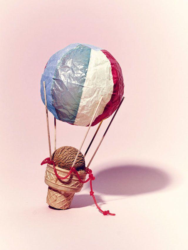 Ice cream sculptures - Sarah Illenberger