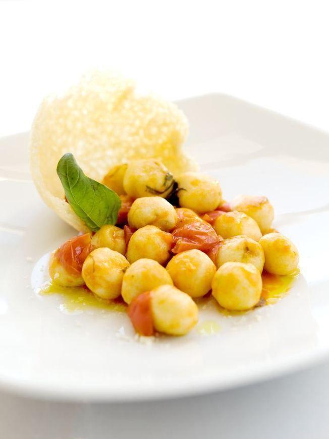 Gnocchetti van ricotta gevuld met pesto | Ricetta - Recepten | Ciao Tutti! Italiaanse Zaken