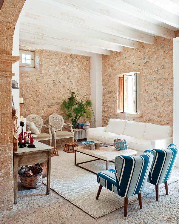 Mediterranean Interior Design | Mediterranean Country Villa ...