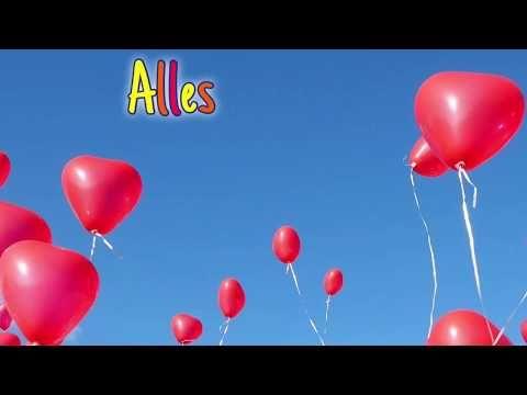Alles Gute Zum Geburtstag Grusskarte Animierte Digitale