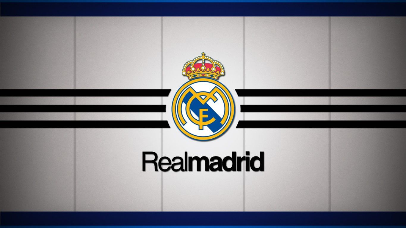 Real Madrid Los Blancos Logo Wallpaper With Images Real Madrid