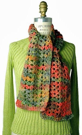 15 Free Fall Crochet Patterns   Tejido