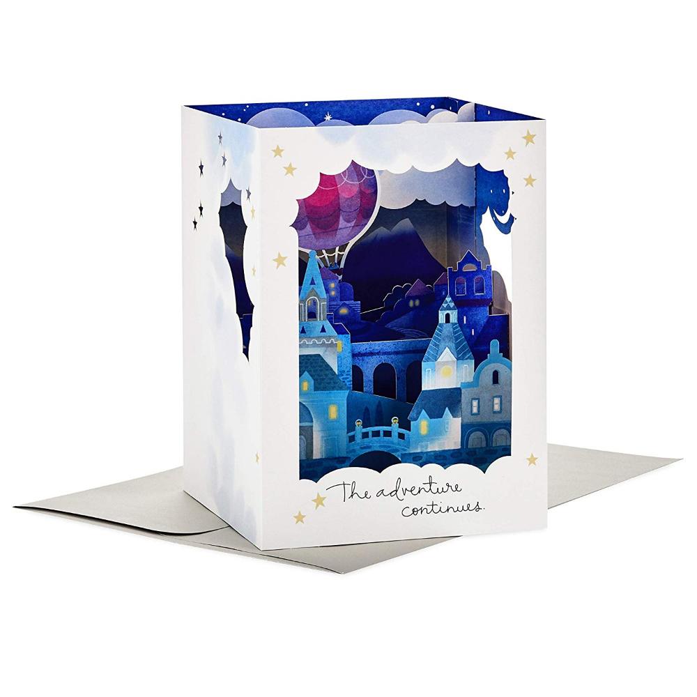 Amazon Com Hallmark Paper Wonder Displayable Pop Up Anniversary Card Goldfish Offic Disney Anniversary Gifts Anniversary Cards Anniversary Greeting Cards