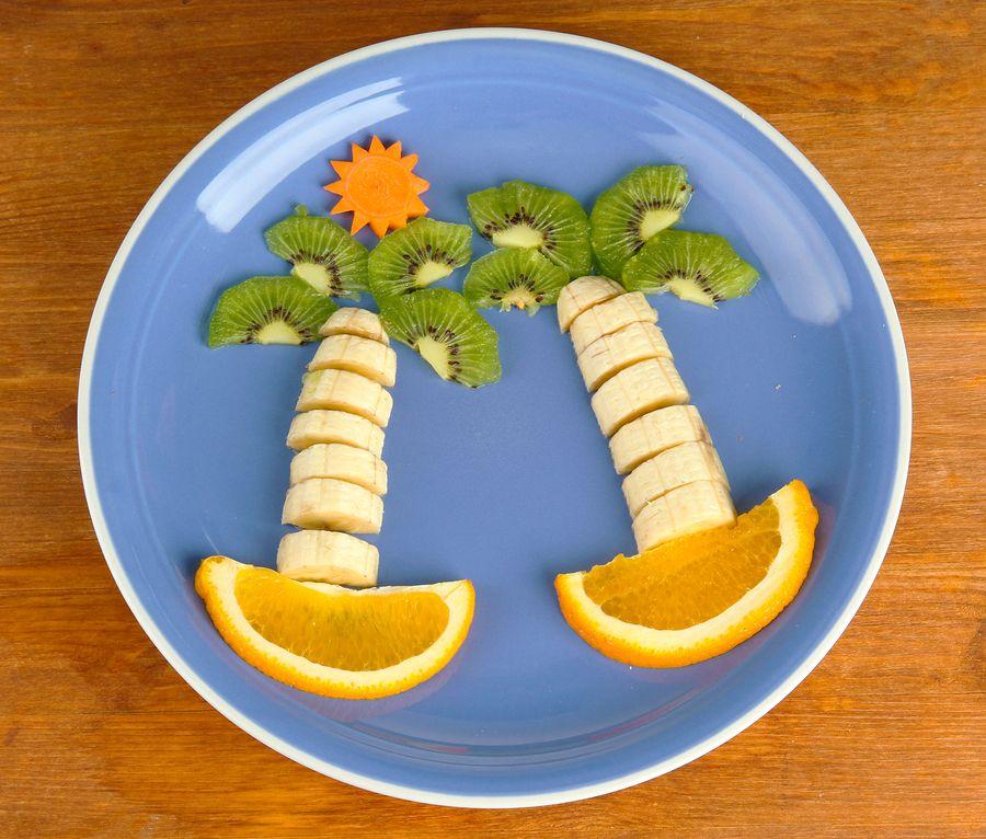 A ilha de frutas