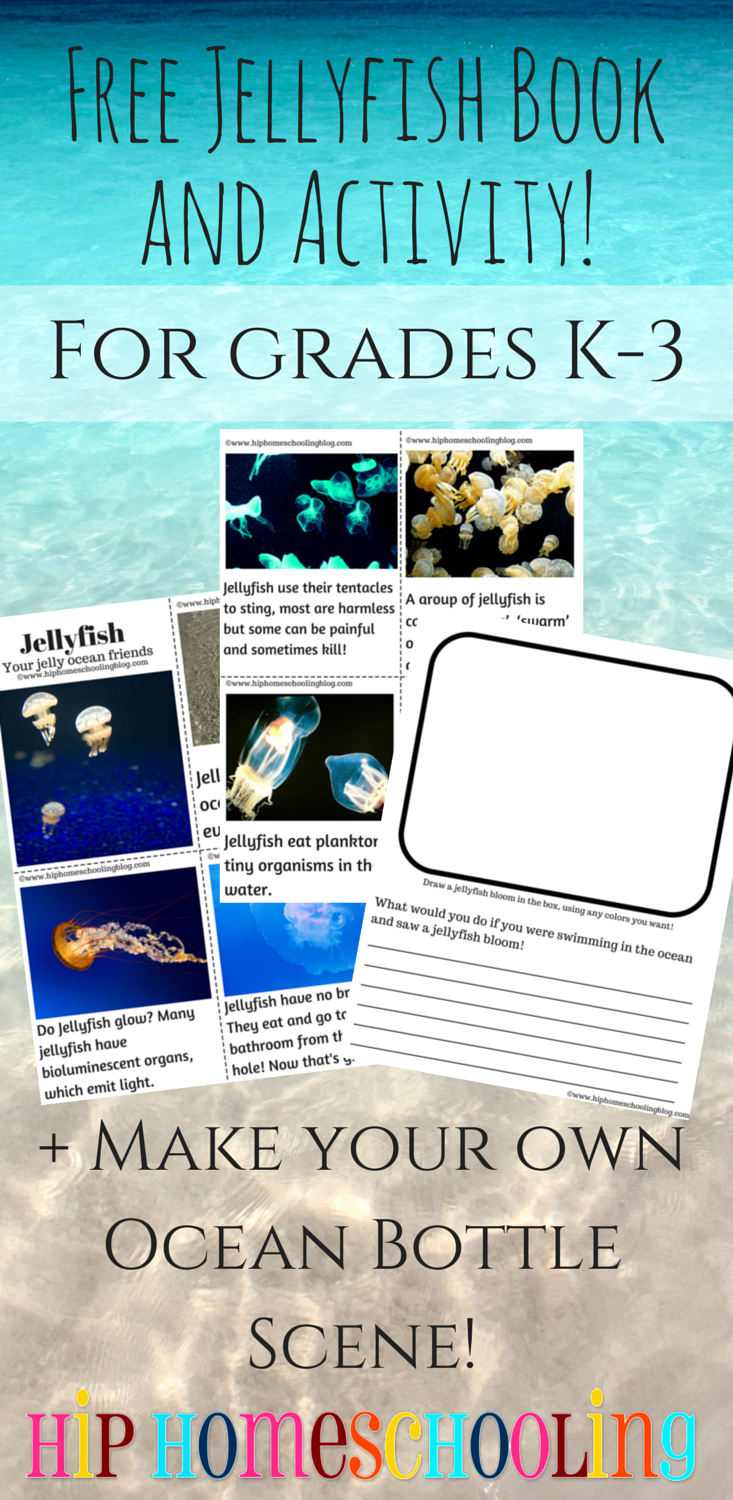 Jellyfish Free Printable Book and Activity plus craft ideas ...