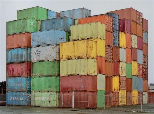 Orphanwork Chris Jordan B 1963 Container Yard Chris Jordan Unusual Art Artist Inspiration