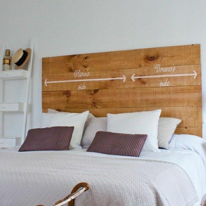 La t te de lit originale en 46 photos comment fabriquer Fabriquer une tete de lit en tissus