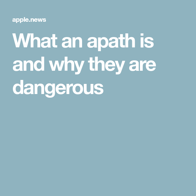 What is an apath