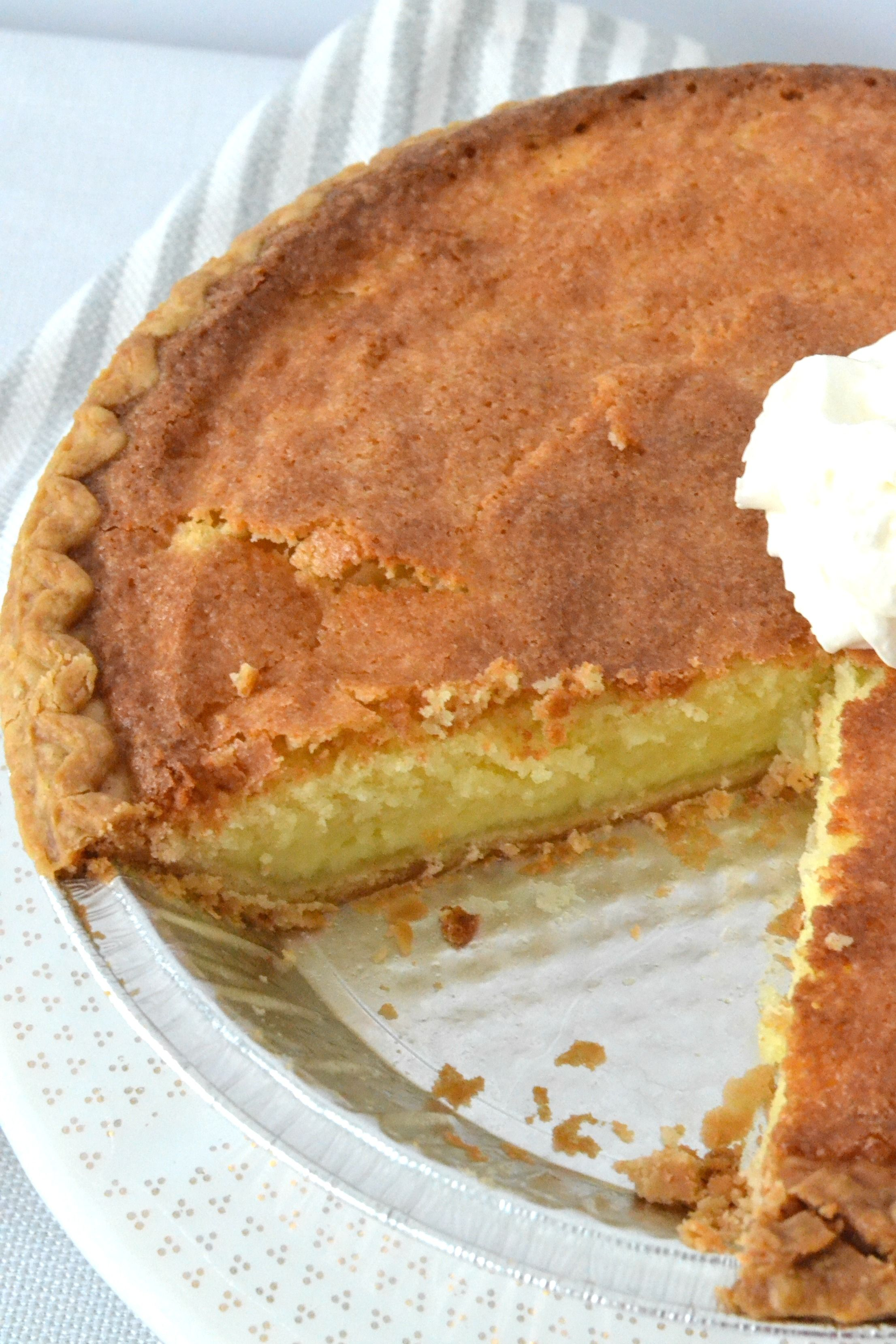Old Fashioned Buttermilk Pie Recipe With Images Easy Pie Recipes Desserts Easy Pie
