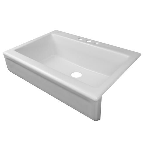 """Lyons 3334"""" X 23"""" X 10"""" Apron Style Sink With 312"""" Drain At Stunning Menards Kitchen Sinks Decorating Design"""
