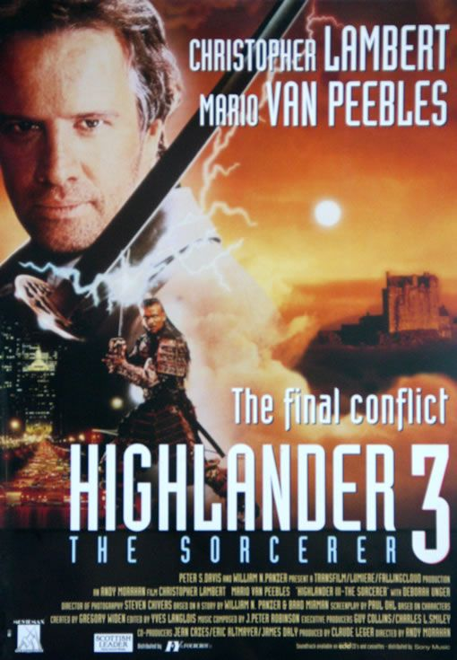 Highlander 3 So Much Better Than 2 Adventure Movie Science