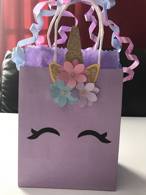 Pink Party Bags x 5 bags Baby Shower Girls Birthday