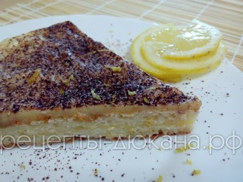 Рецепты тортов по диете дюкана