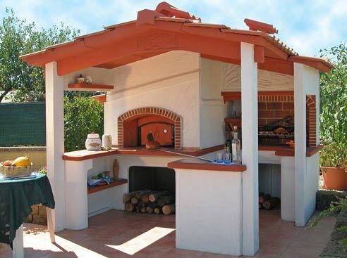 forni in muratura per esterni - cerca con google | forno a legna ... - Cucina Con Forno A Legna