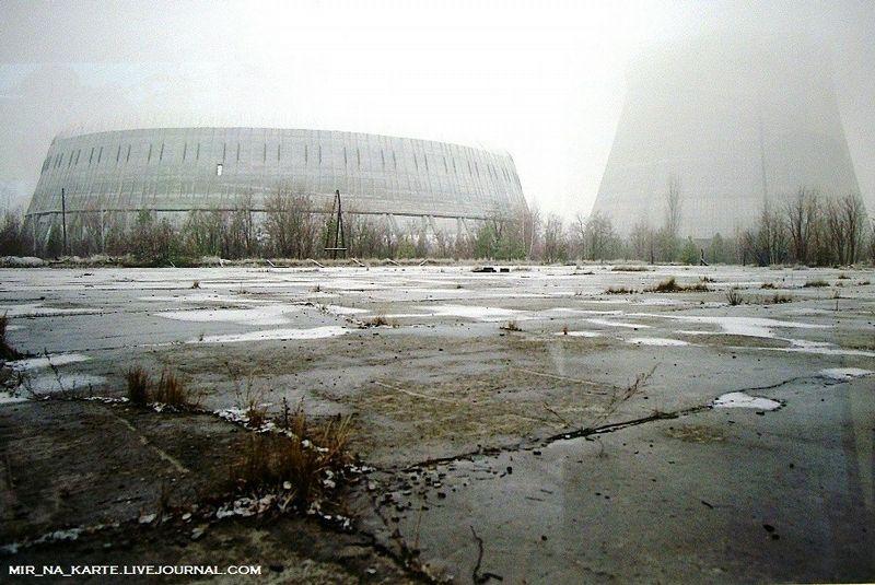 Chernobyl Disaster Site At Pripyat Ukraine Chernobyl