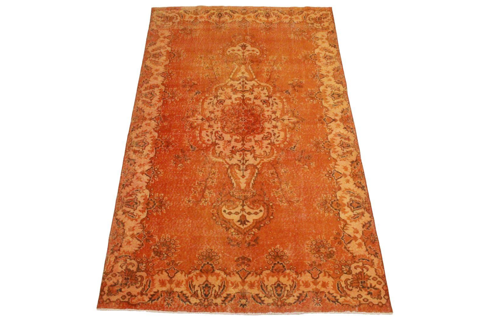 Vintage Teppich Orange in 290x170cm