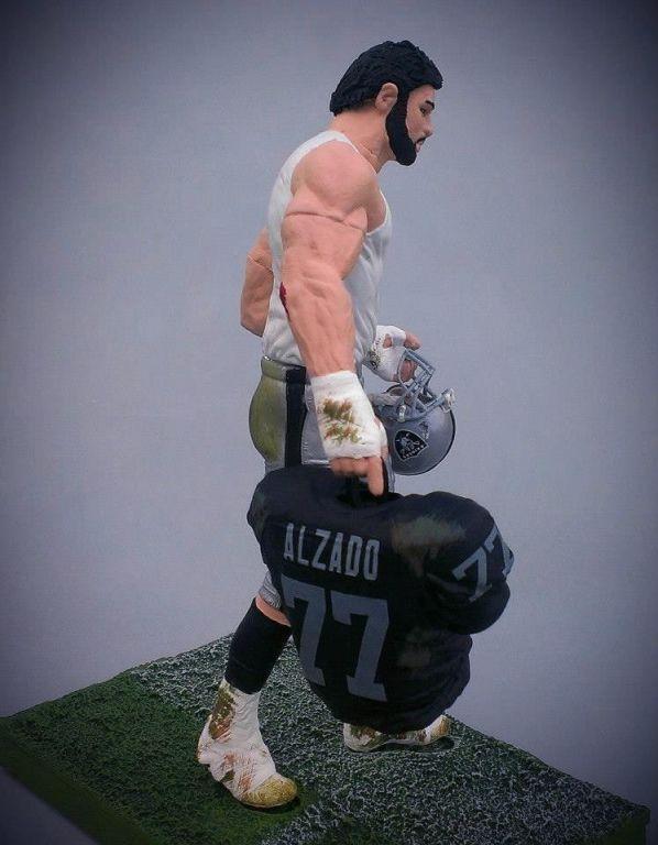 Mcfarlane Nfl Custom Oakland Raiders Lyle Alzado The