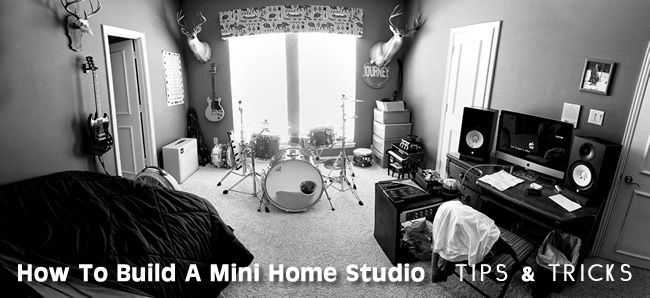 Peachy Affordable Equipment To Build A Mini Home Studio Tips Tricks Largest Home Design Picture Inspirations Pitcheantrous