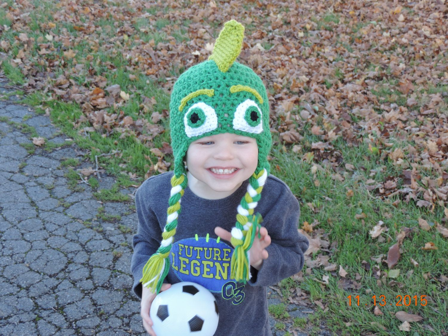 PATTERN - PJ Masks Inspired Gecko Crochet Hat Pattern by ...