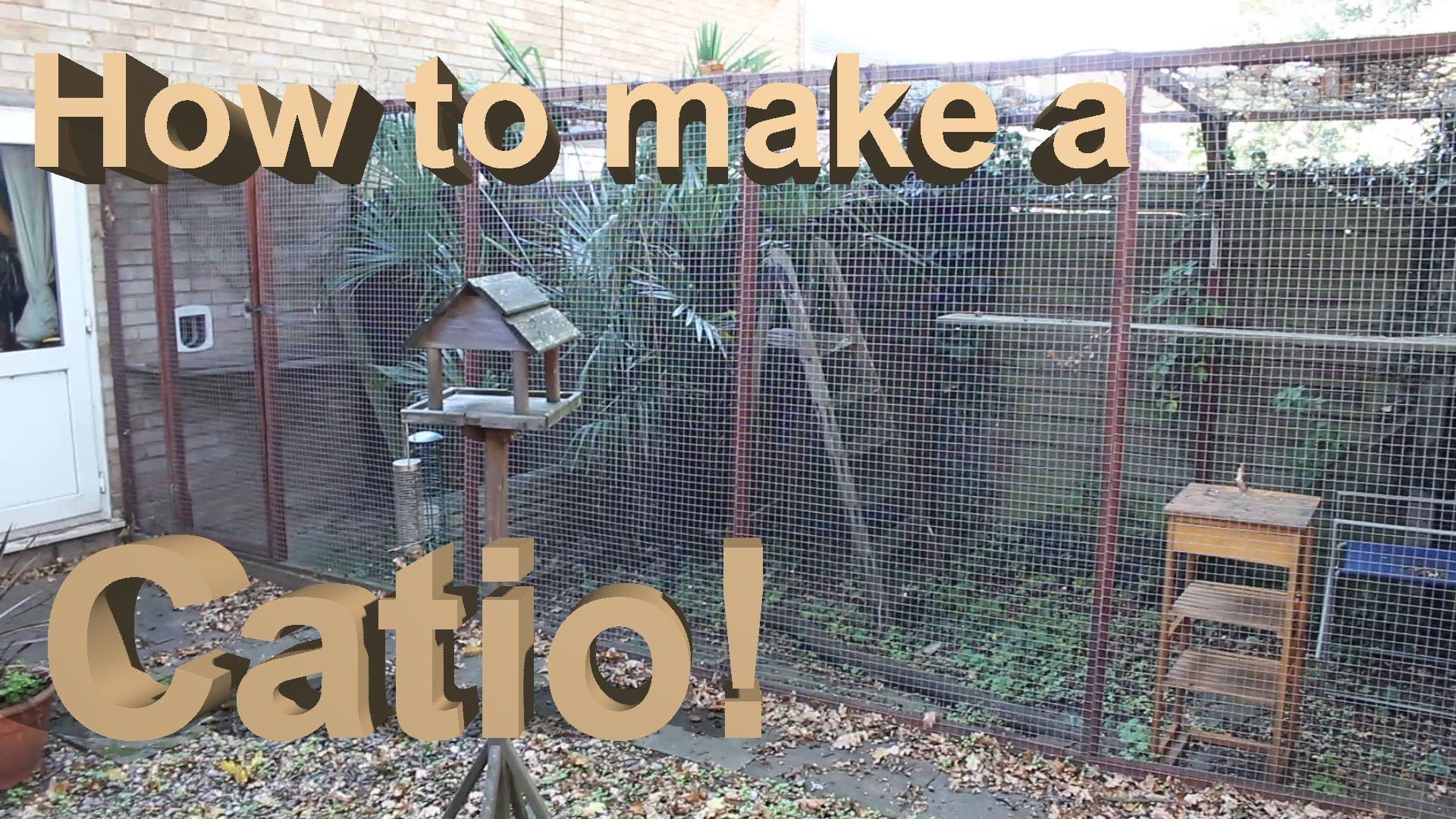 How To Build A Catio With Tips Youtube Catio Bengal Cat Outdoor Pet Enclosure