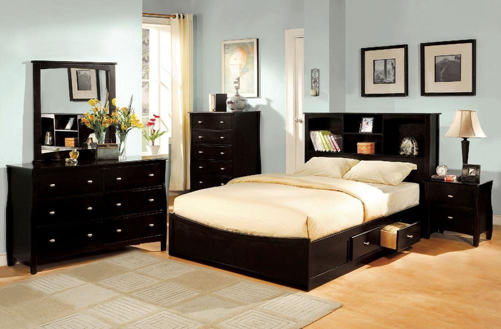 Fa furnishing lawfranc captains storage queen bed