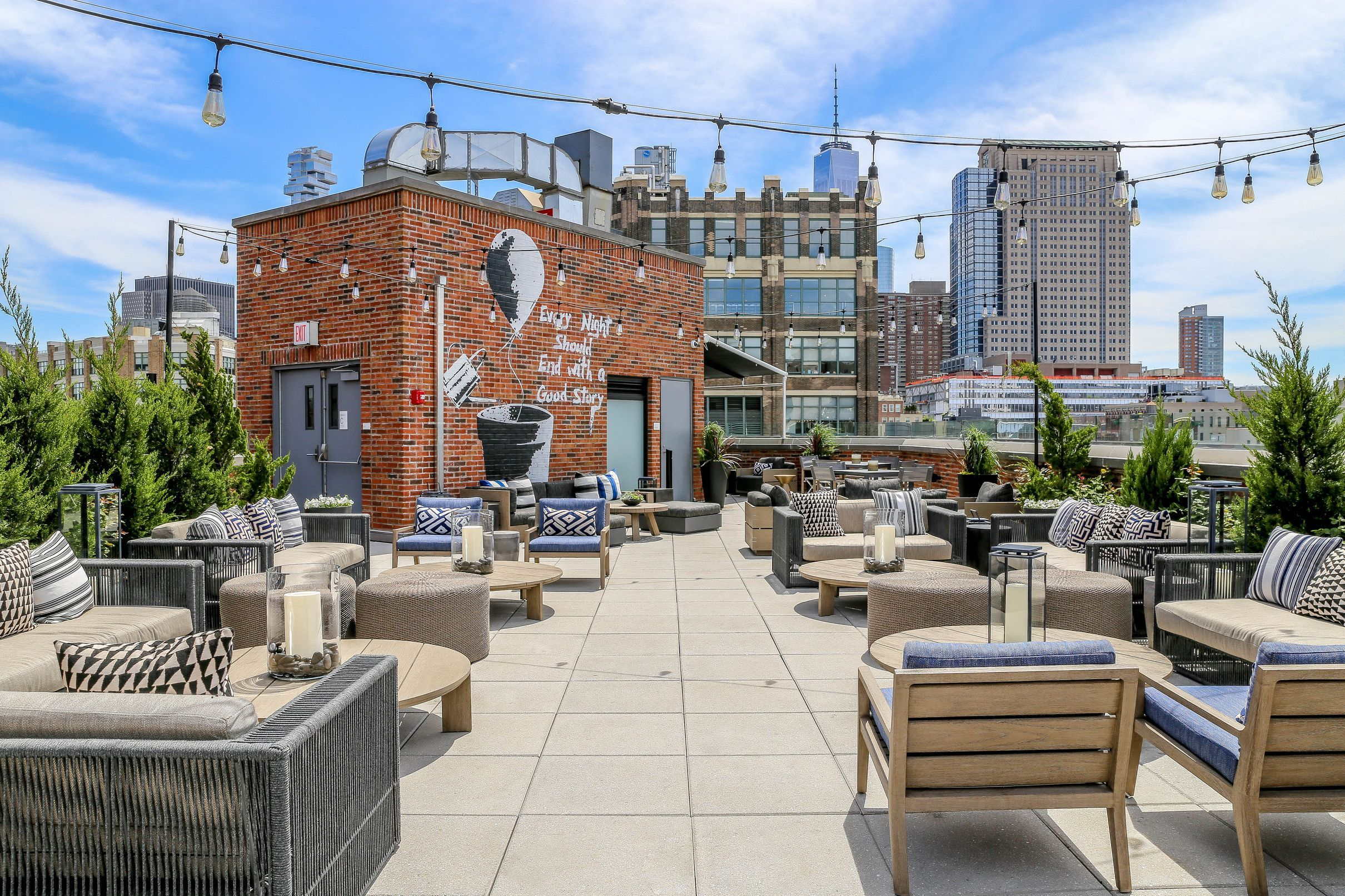Soho Rooftop Bar Reopens With Snacks From Harold Moore Rooftop Bars Nyc Best Rooftop Bars Nyc Nyc Rooftop