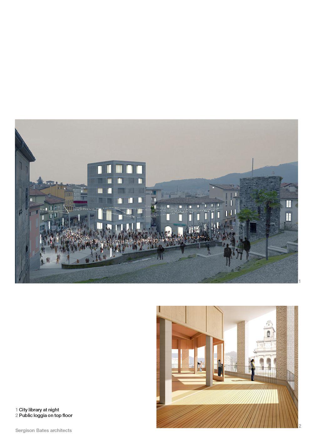 New City Library, Mendrisio | Sergison Bates architects