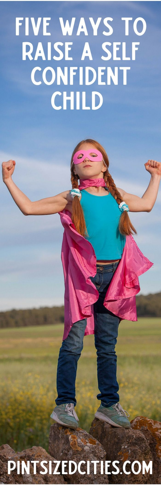 Photo of Five tips for raising a self confident child. #selfconfidence #raisingchildren #…