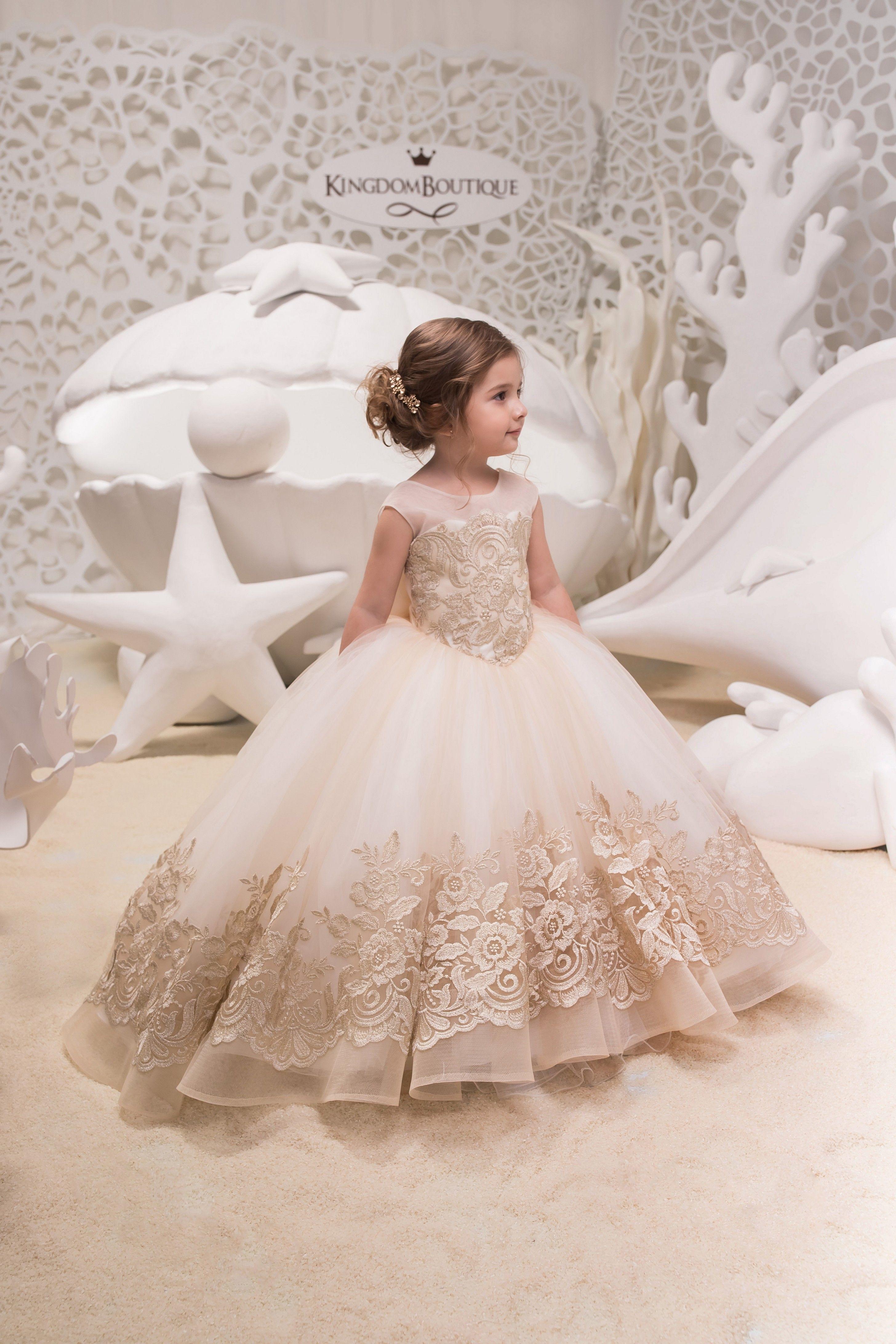 Kid Girl Tutu Tulle Dress Princess Cute Lace Flower Dresses Wedding Bridesmaid