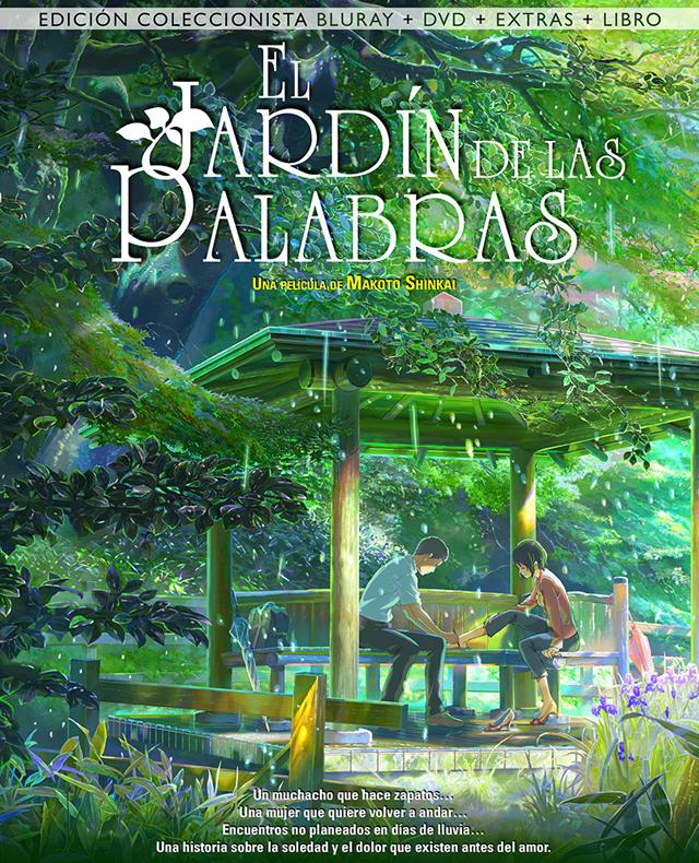 El Jardin De Las Palabras 4 4 2016 Jardin De Las Palabras Viaje A Agartha Peliculas De Anime