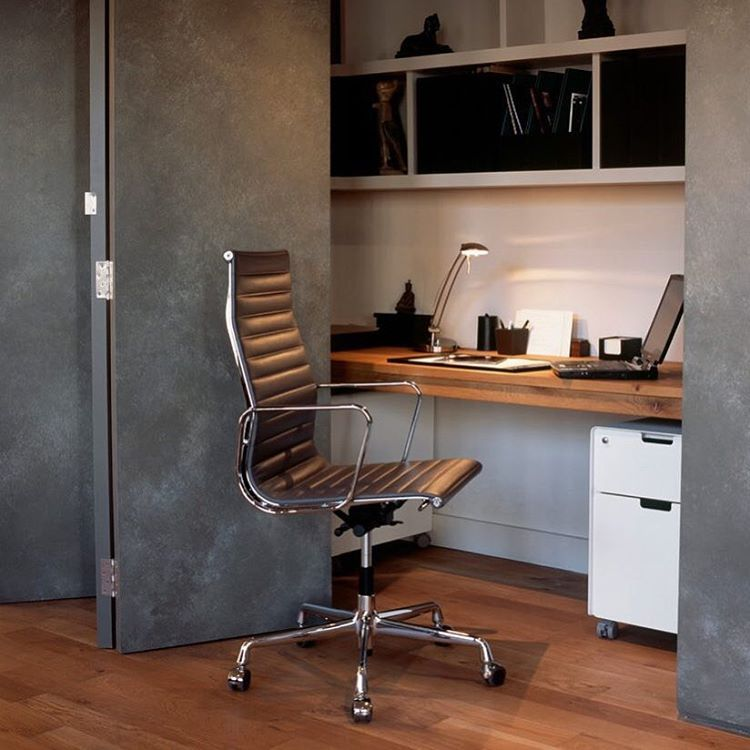 traditional hidden home office. Enclosed Desk With Contemporary Home Office And Built In Shelf Compact Cupboard Eames Chair Hidden Space Interior Traditional