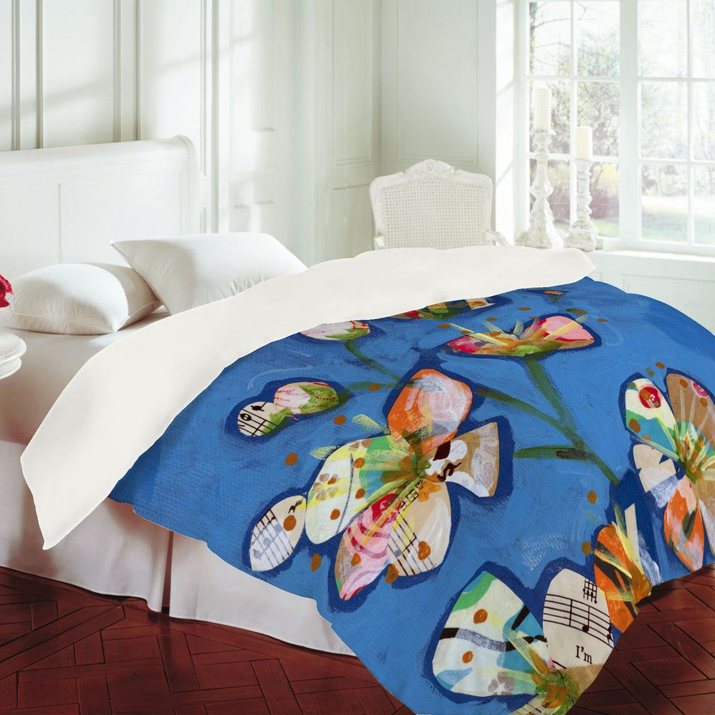 DENY Designs Home Accessories | Land Of Lulu Apple Blossoms 1 Duvet Cover