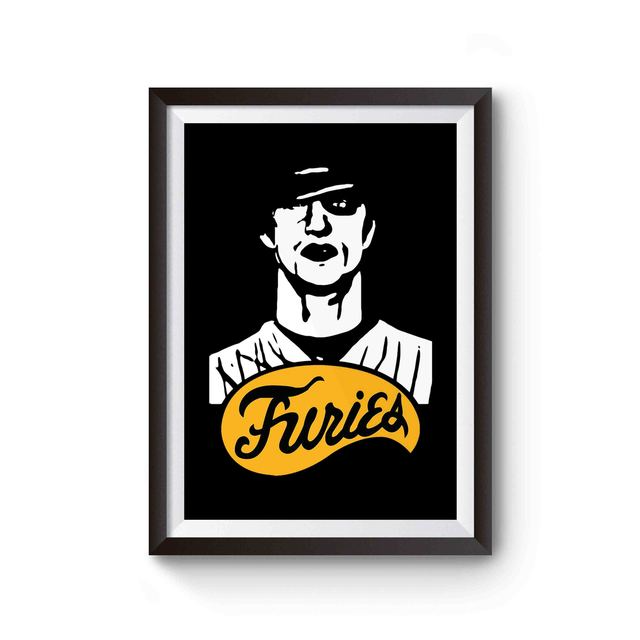 The Warriors Baseball Furies Street Gang Poster The Warriors Baseball Furies Warrior Warrior Movie