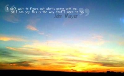 Split Screen Sadness - John Mayer