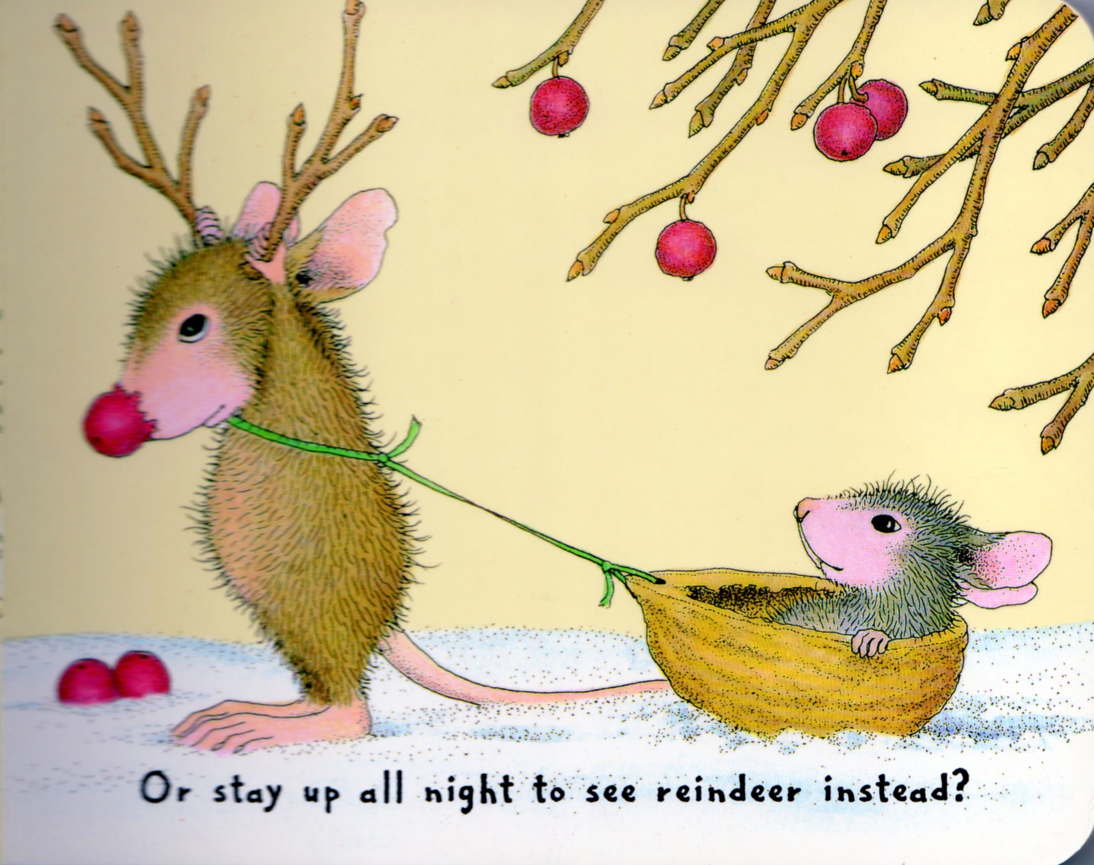 House Mouse Christmas page 3.