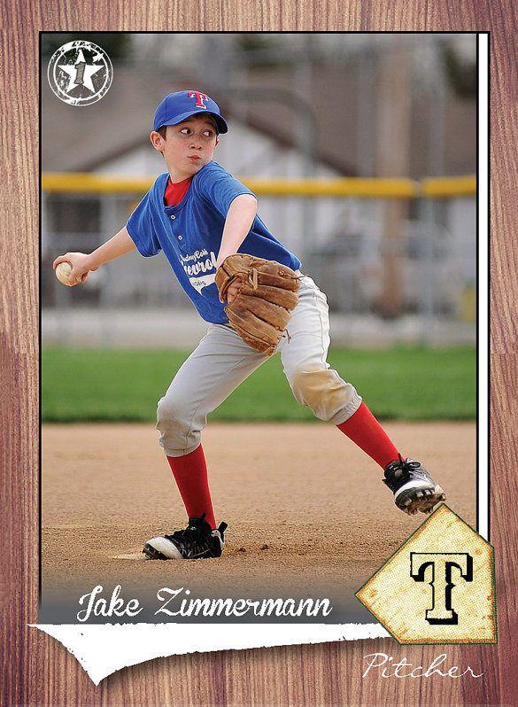 16+ Baseball Card Templates - PSD, AI, EPS | Baseball card ...