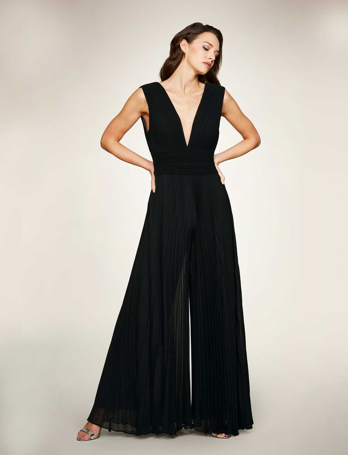 jumpsuit | bella sposa | weite kleider, schwarzes kleid