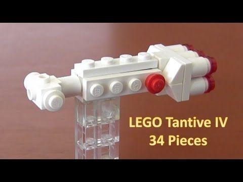 Mini To Wars Corvette Lego Build A How Tantive Star Iv Corellian TJFK3l1c