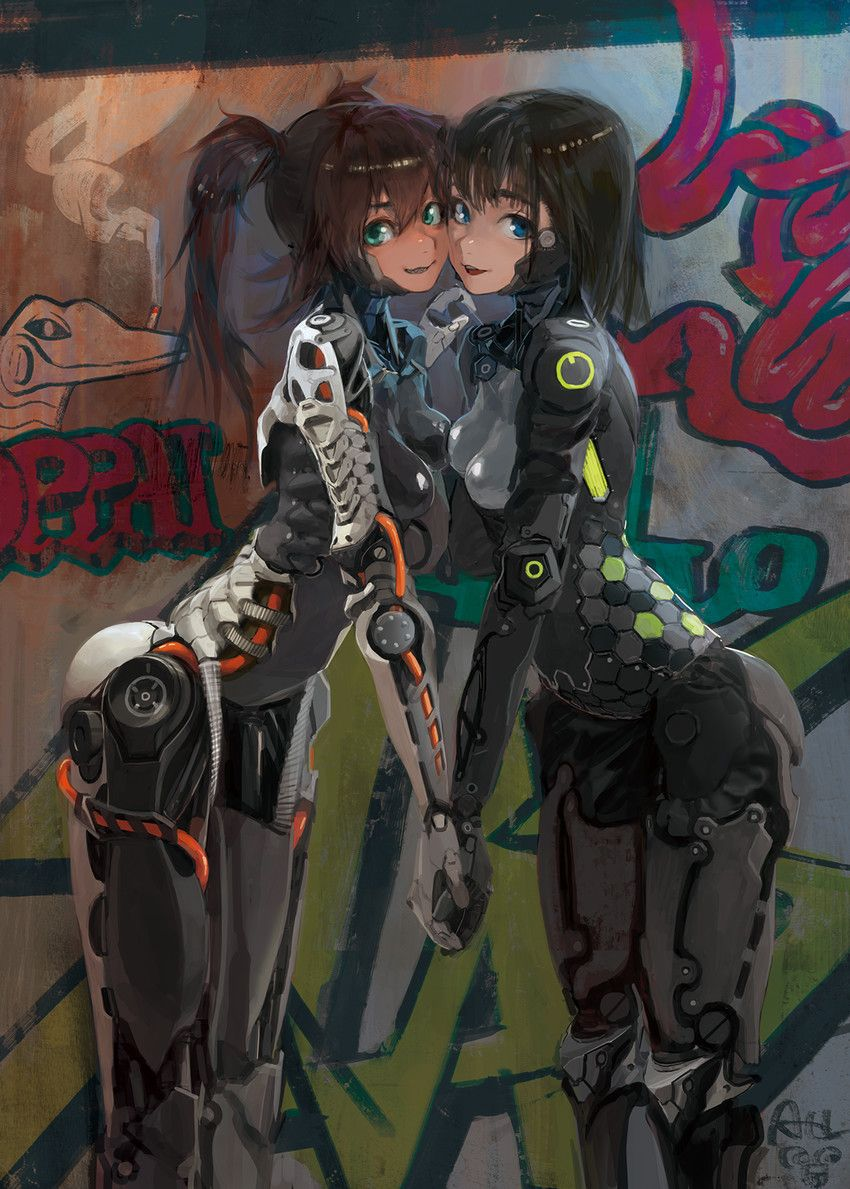 Anzujaamu Photo Cyberpunk Girl Character Art Cyberpunk Art
