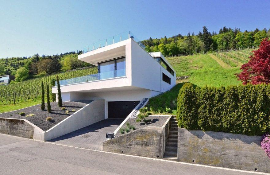 Hanghäuser Modern architektenhaus schweiz im weinhang architecture house and haus