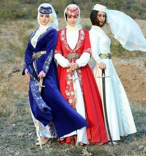Татарский национальный костюм (51 фото)  женские, детские, национальные  костюмы татар для девочки 3c87cc1bdee
