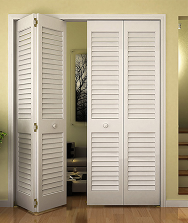Closet Door Bi Fold Kimberly Bay Plantation Louver White