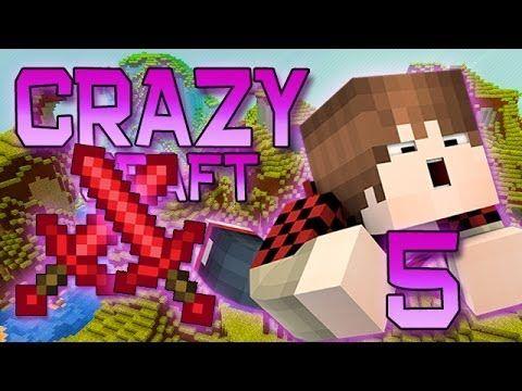Minecraft Crazy Craft Modded Survival Playthrough W Mitch Ep 5 How To Get Ruby Swords Minecraft Minecraft Videos Crafts