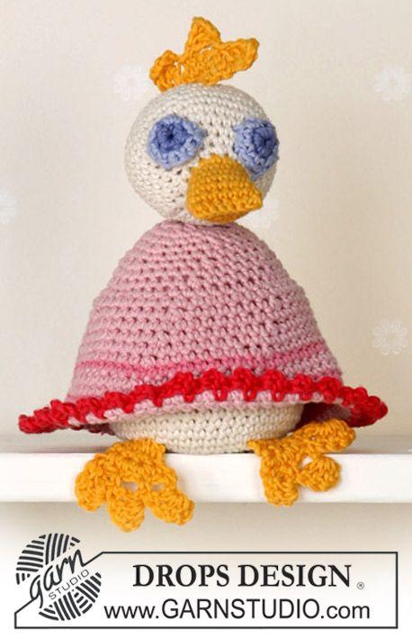 "Ente in ""Muskat"" oder ""Safran"" ~ DROPS Design | Häkeln | Pinterest ..."