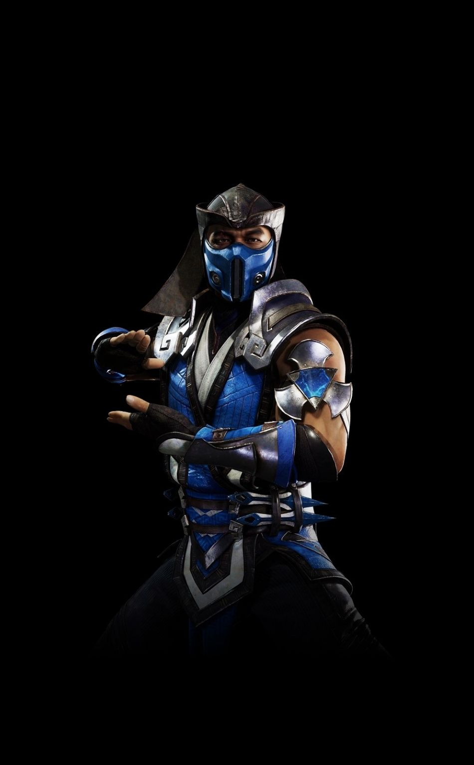 Sub Zero Warrior Mortal Kombat 11 Video Game Minimal 950x1534