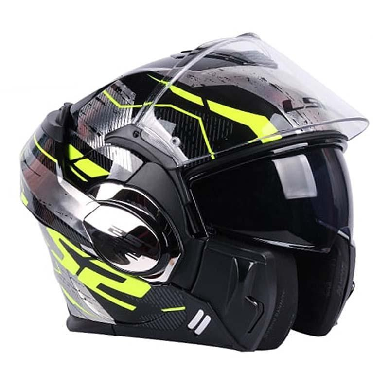Ls2 Valiant Ff399 Double Lens Modular Motorcycle Helmets Products