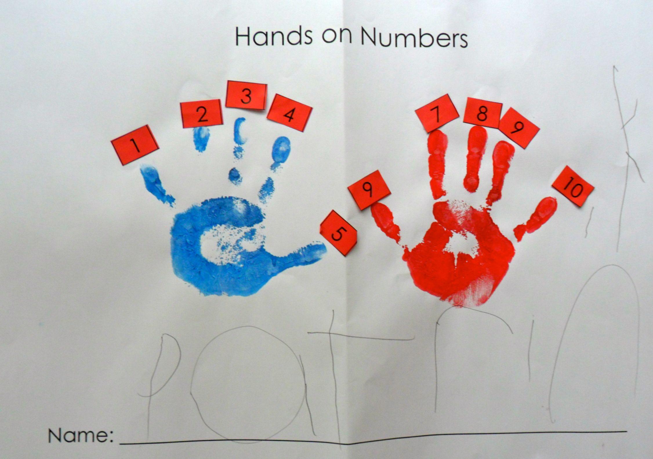 Hands On Numbers New Horizons Preschool