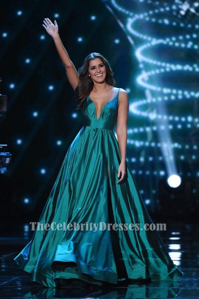 Paulina Vega Evening Gown 2015 Miss Universe Pageant Dress TCD6480 ...