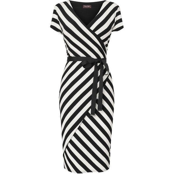 Coco Stripe Wrap Dress! LOVE wrap dresses! They fit curvy women so well! e5d3e7b7e